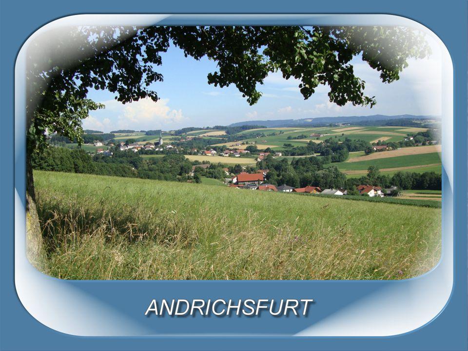 Andrichsfurt Bezirk Ried im Innkreis Größe:1.236 ha Einwohner:700 HWS