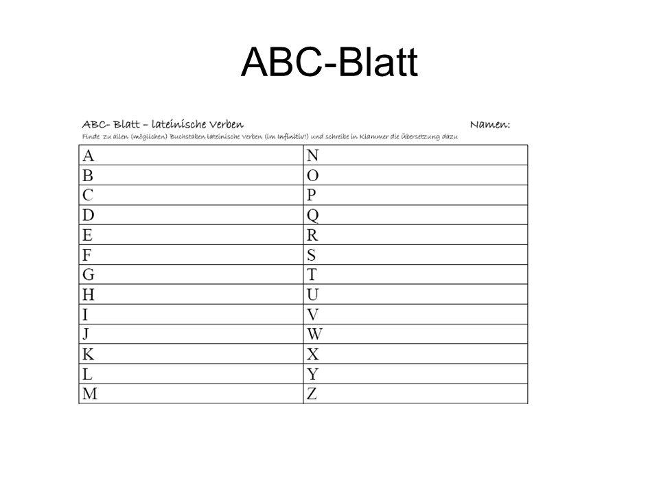 ABC-Blatt