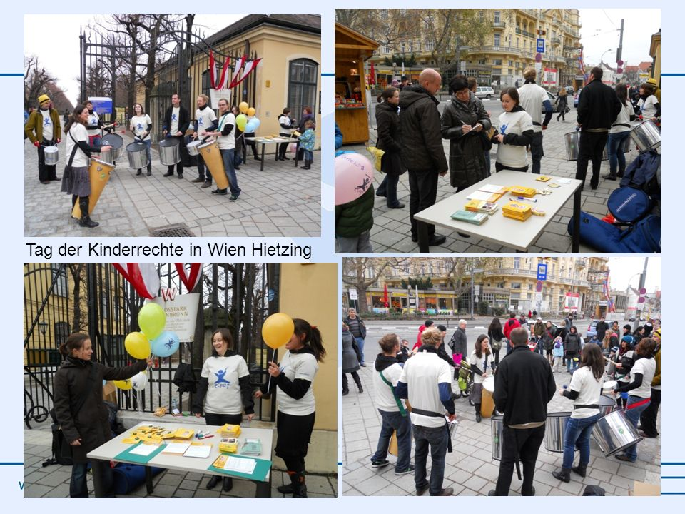 Tag der Kinderrechte in Wien Hietzing