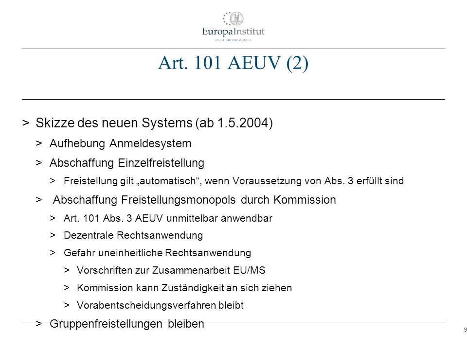 30 Beispiel Rechtssprechung zu Art.101 AEUV > Teerfarbenkartell > EuGH, Rs.