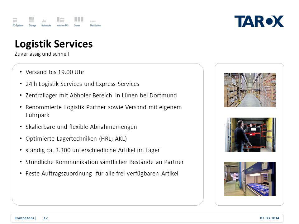 Trend Line Versand bis 19.00 Uhr 24 h Logistik Services und Express Services Zentrallager mit Abholer-Bereich in Lünen bei Dortmund Renommierte Logist