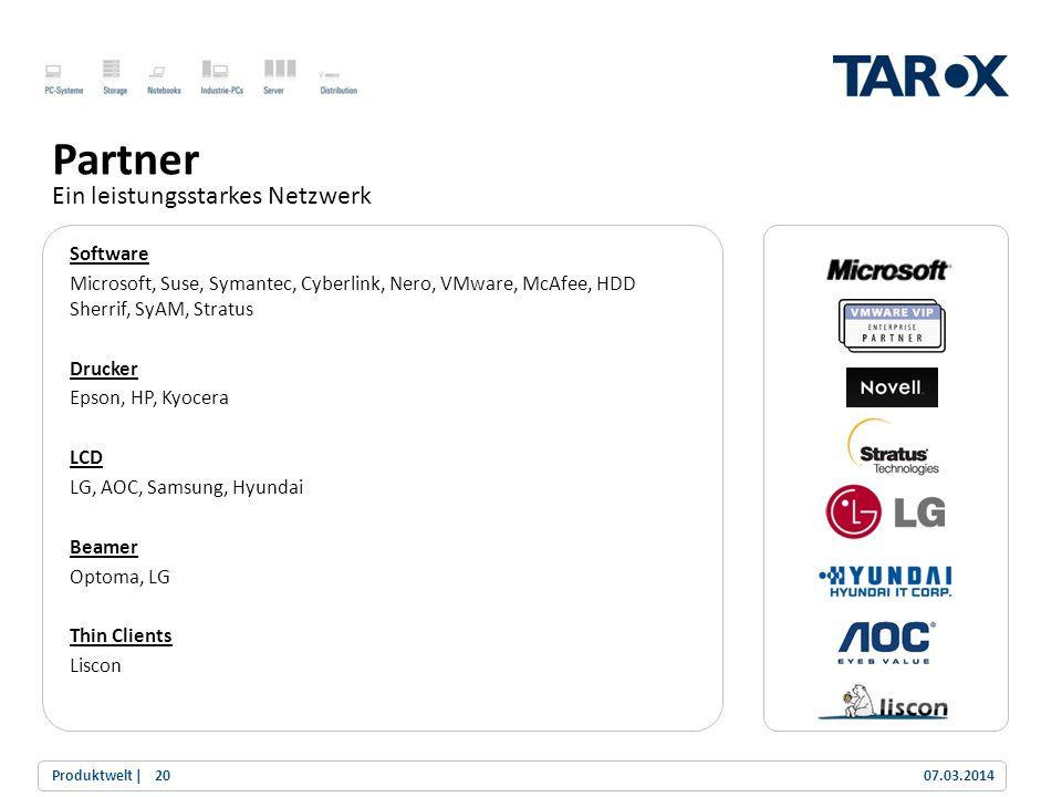Trend Line Software Microsoft, Suse, Symantec, Cyberlink, Nero, VMware, McAfee, HDD Sherrif, SyAM, Stratus Drucker Epson, HP, Kyocera LCD LG, AOC, Sam