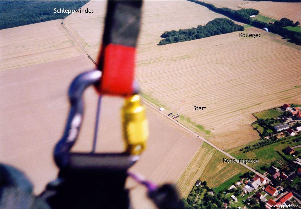 Schleppgelände Schleppwinde: Start Kollege: Schleppgelände Konsumgasse