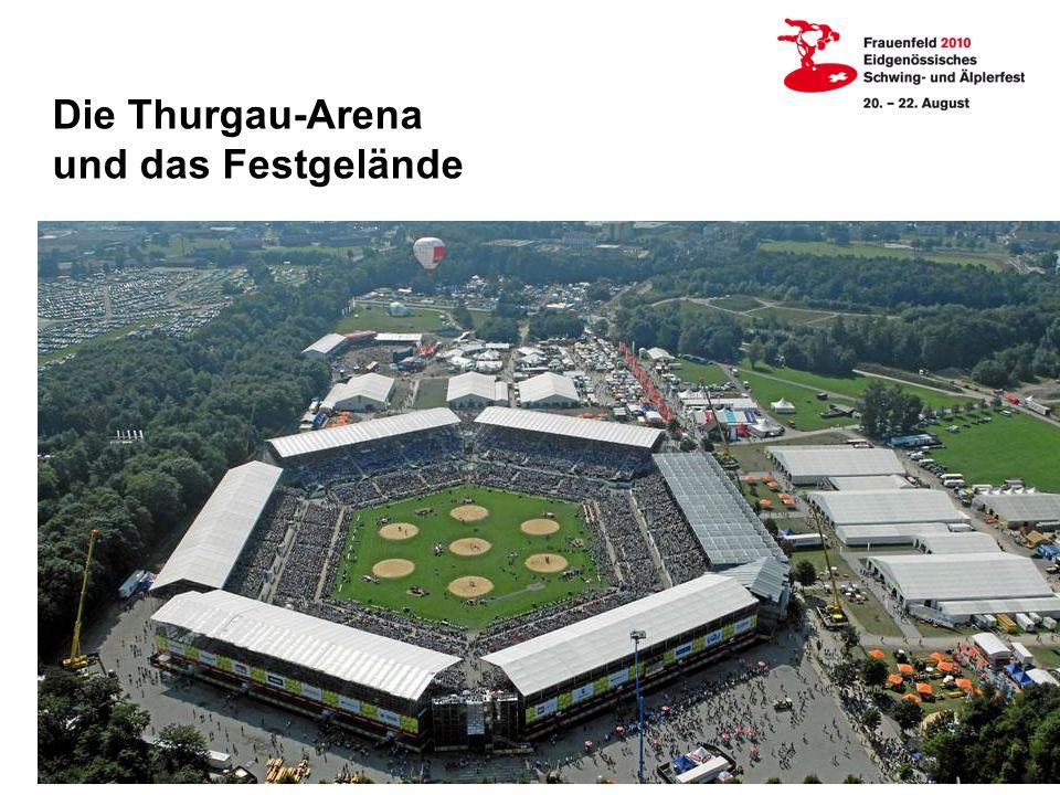 Die Thurgau-Arena und das Festgelände