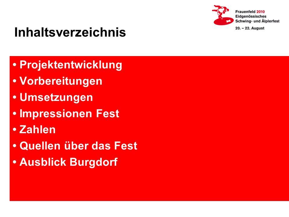 Inhaltsverzeichnis Projektentwicklung Vorbereitungen Umsetzungen Impressionen Fest Zahlen Quellen über das Fest Ausblick Burgdorf