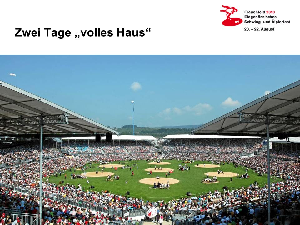Zwei Tage volles Haus