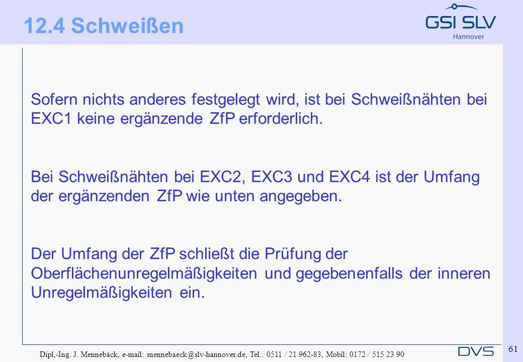 Dipl,-Ing. J. Mennebäck, e-mail: mennebaeck@slv-hannover.de, Tel.: 0511 / 21 962-83, Mobil: 0172 / 515 23 90 61 Sofern nichts anderes festgelegt wird,