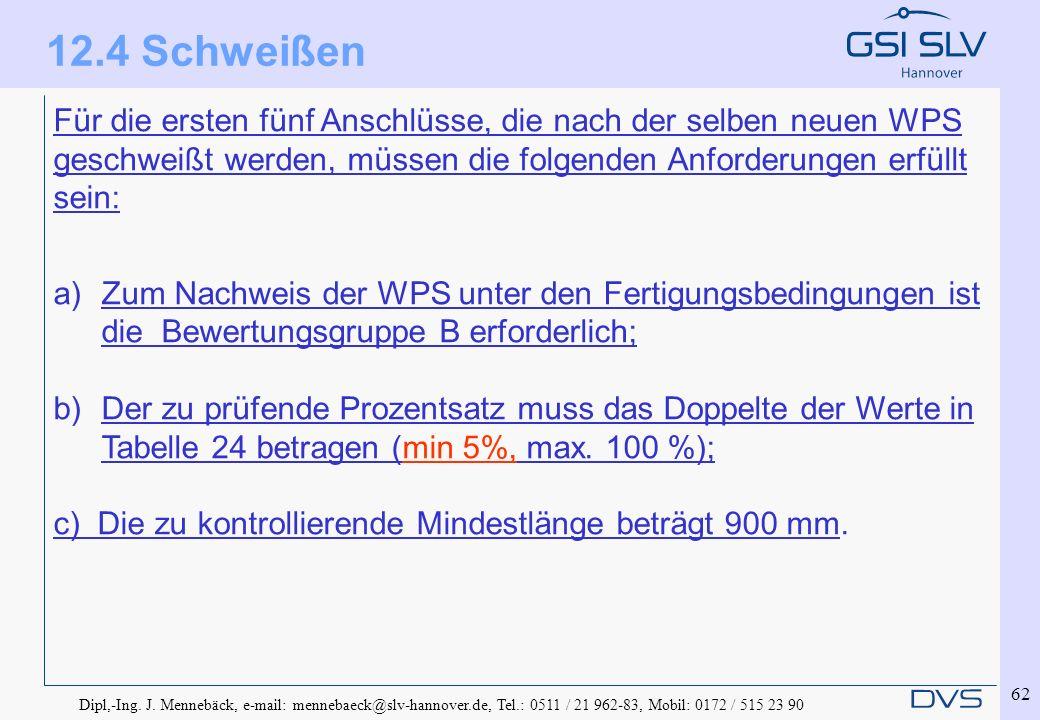 Dipl,-Ing. J. Mennebäck, e-mail: mennebaeck@slv-hannover.de, Tel.: 0511 / 21 962-83, Mobil: 0172 / 515 23 90 62 Für die ersten fünf Anschlüsse, die na