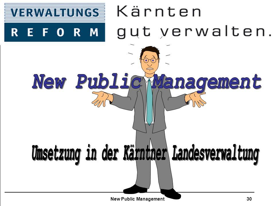 NPM- New Public Management New Public Management30