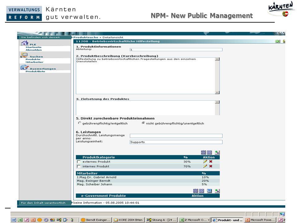 NPM- New Public Management New Public Management63