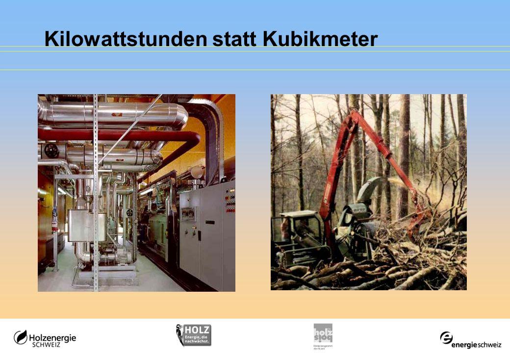 Kilowattstunden statt Kubikmeter