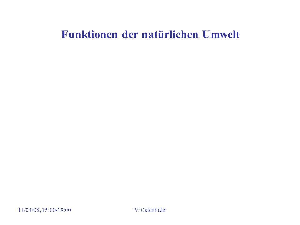 11/04/08, 15:00-19:00V. Calenbuhr Funktionen der natürlichen Umwelt