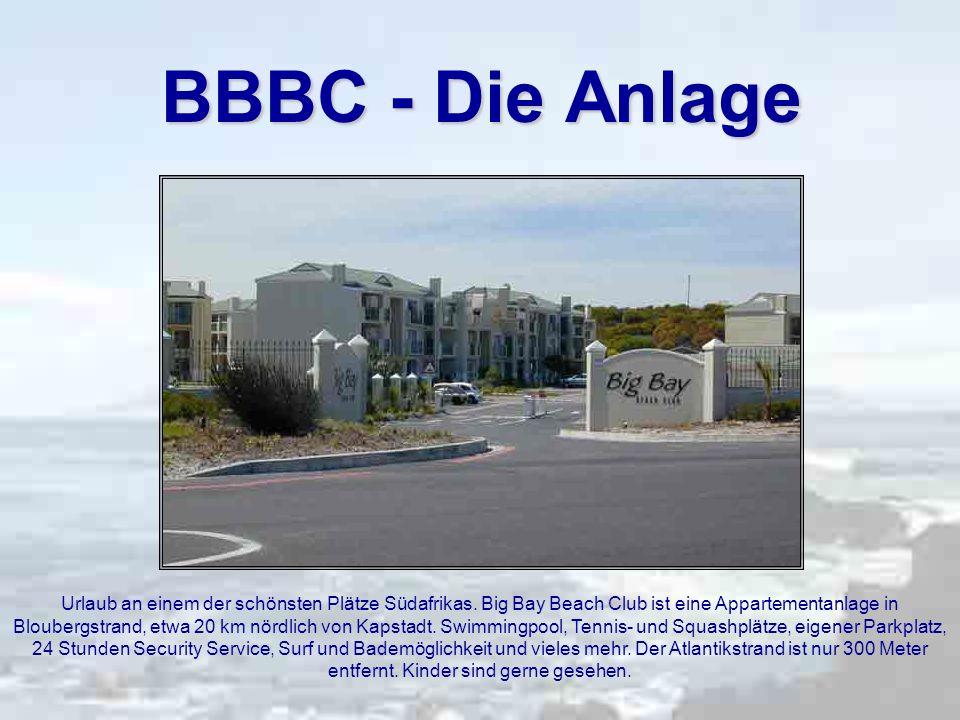 BBBC - Die Anlage Urlaub an einem der schönsten Plätze Südafrikas.