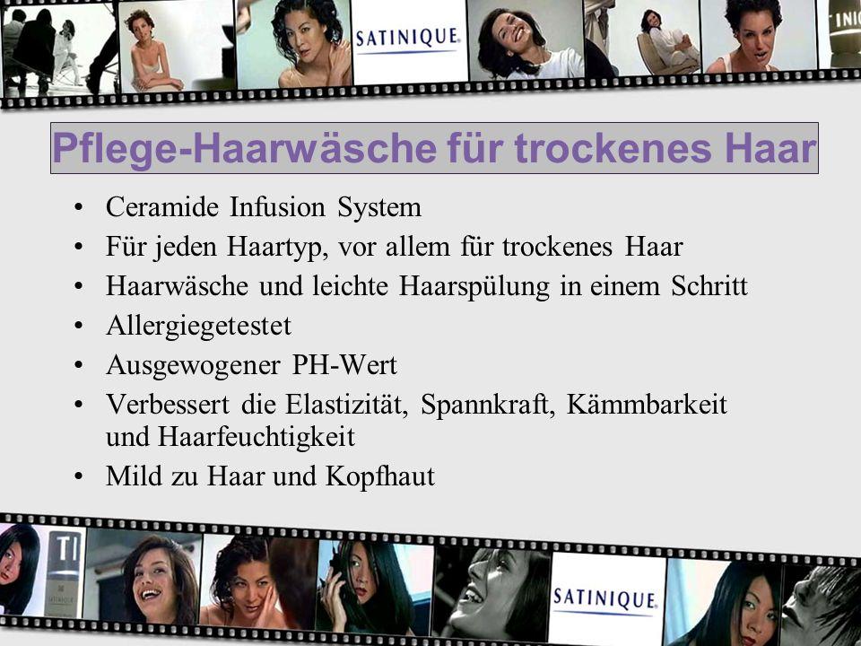 Pflege-Haarwäsche für trockenes Haar Ceramide Infusion System Für jeden Haartyp, vor allem für trockenes Haar Haarwäsche und leichte Haarspülung in ei