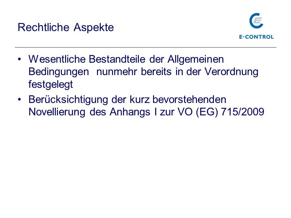 2.MMO-VO: Netzzugang und Kapazitätsmanagement Energie-Control Austria Titel