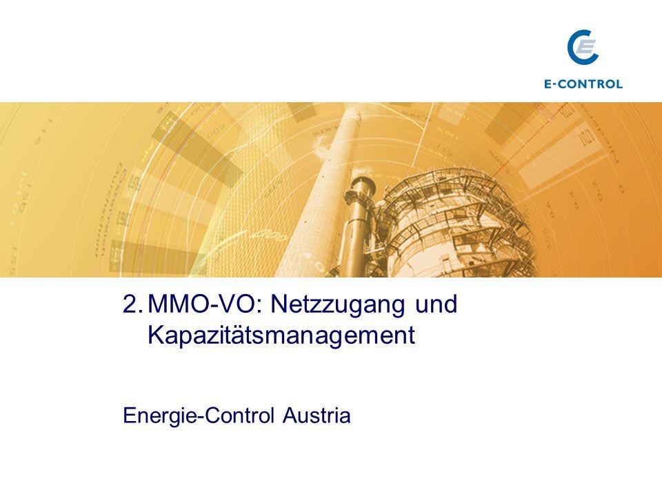 3. MMO-VO: Bilanzierung und Ausgleichsenergieabwicklung Energie-Control Austria Titel