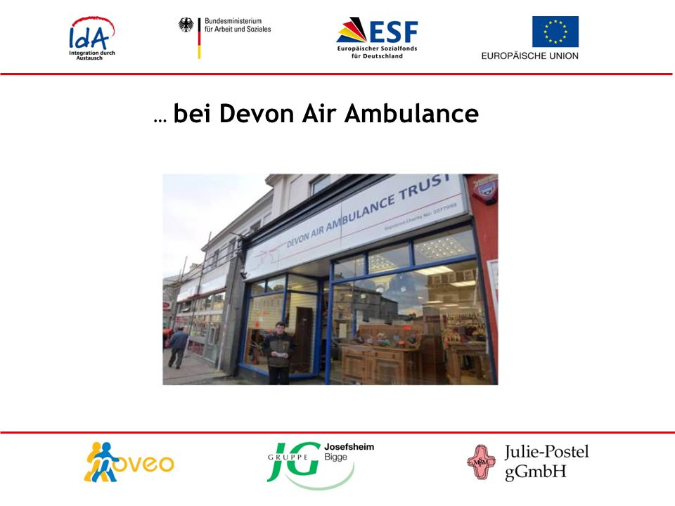 … bei Devon Air Ambulance