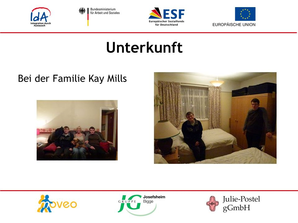 Unterkunft Bei der Familie Kay Mills