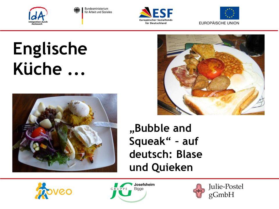 Englische Küche... Bubble and Squeak – auf deutsch: Blase und Quieken