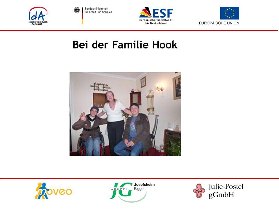 Bei der Familie Hook