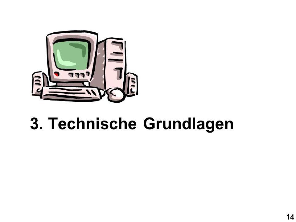 14 3. Technische Grundlagen