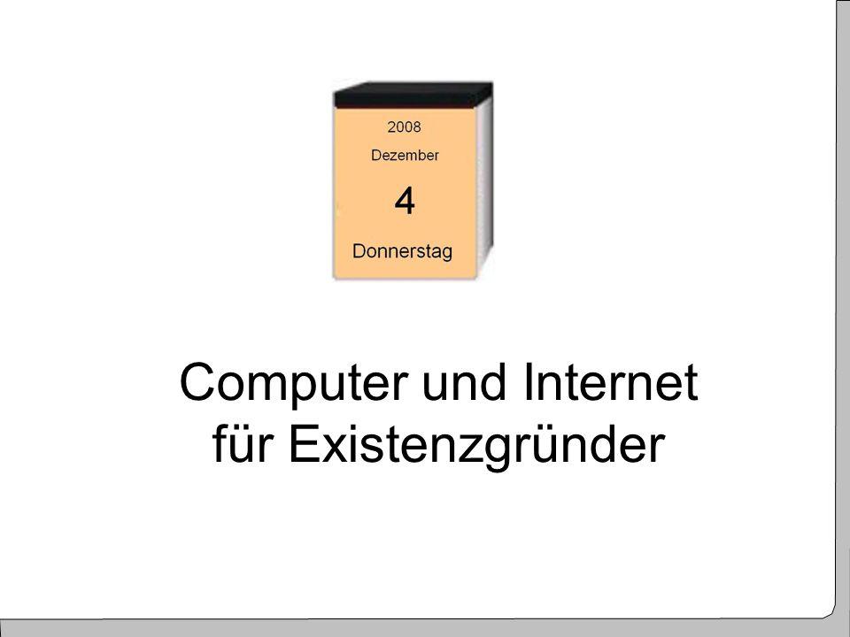2 Computer und Internet für Existenzgründer