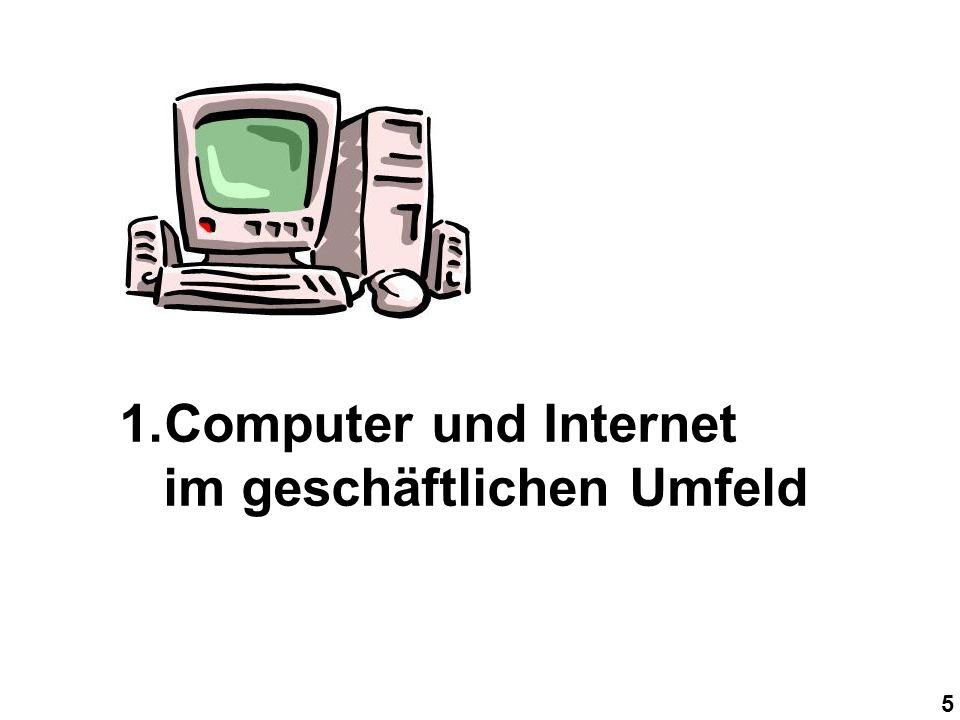 5 1.Computer und Internet im geschäftlichen Umfeld