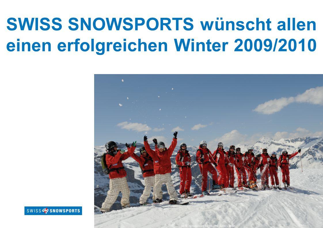 Page 29Titre présentation SWISS SNOWSPORTS wünscht allen einen erfolgreichen Winter 2009/2010