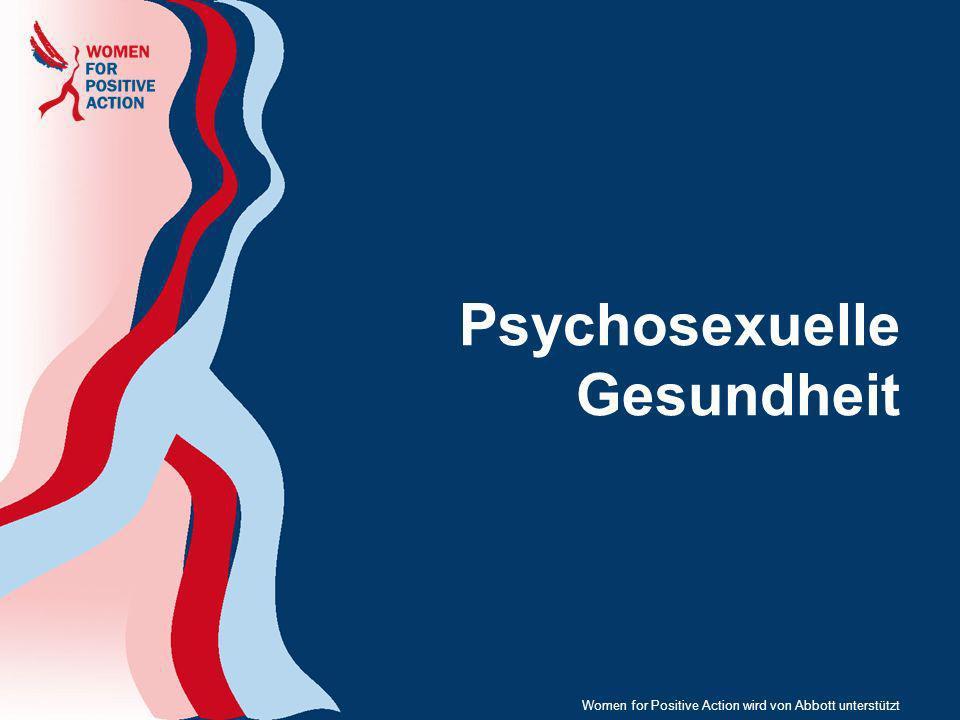 Psychosexuelle Gesundheit Women for Positive Action wird von Abbott unterstützt