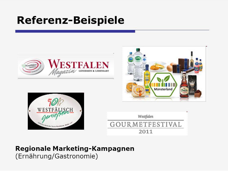 Referenz-Beispiele Regionale Marketing-Kampagnen (Ernährung/Gastronomie)