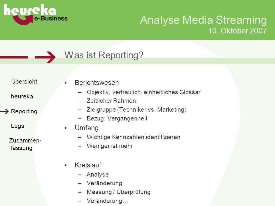 Analyse Media Streaming 10.