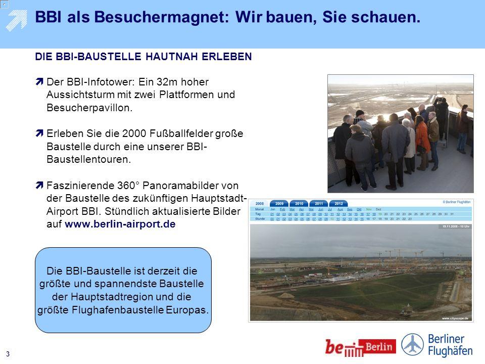 2 Berlin und Brandenburg gemeinsam vermarkten. Incoming-Anteil von 55 Prozent auf den Berliner Flughäfen Wirtschaftsfaktor Tourismus: Mehr Potenzial d