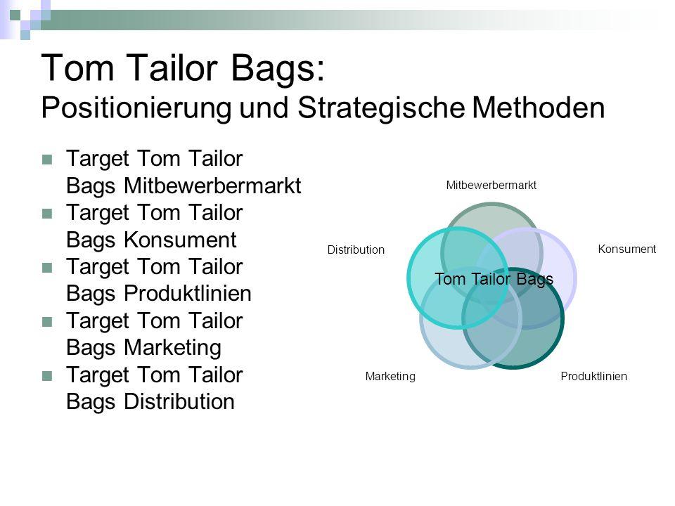 Tom Tailor Bags: Umsatzprognose bis Ende 2010