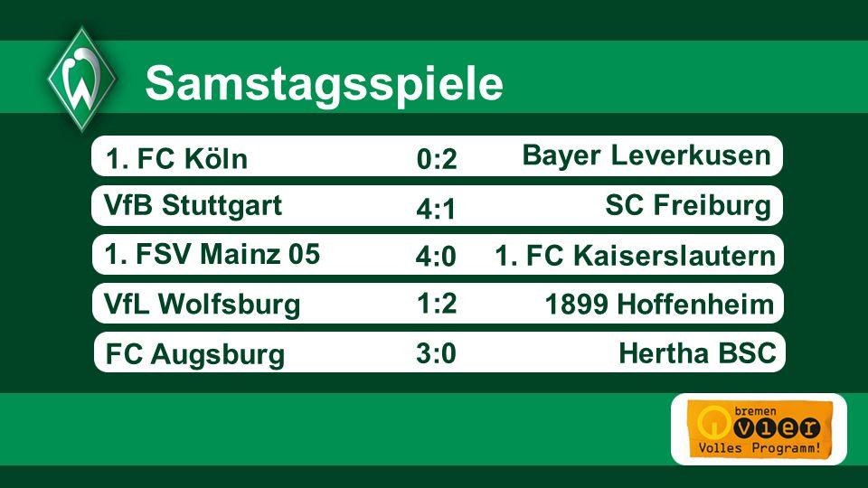 Bayer Leverkusen SC FreiburgVfB Stuttgart 1.FSV Mainz 05 1.