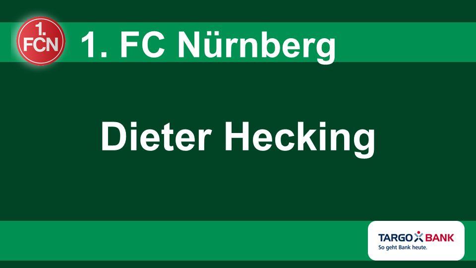 Dieter Hecking 1. FC Nürnberg