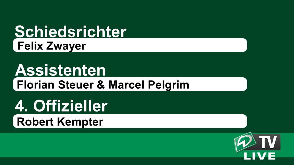 Schiedsrichter Assistenten Felix Zwayer Florian Steuer & Marcel Pelgrim 4.