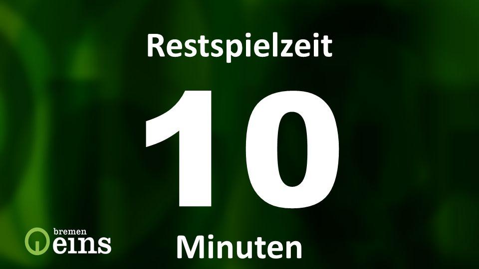 Restspielzeit Restspielzeit 10 Min 10 Restspielzeit Minuten