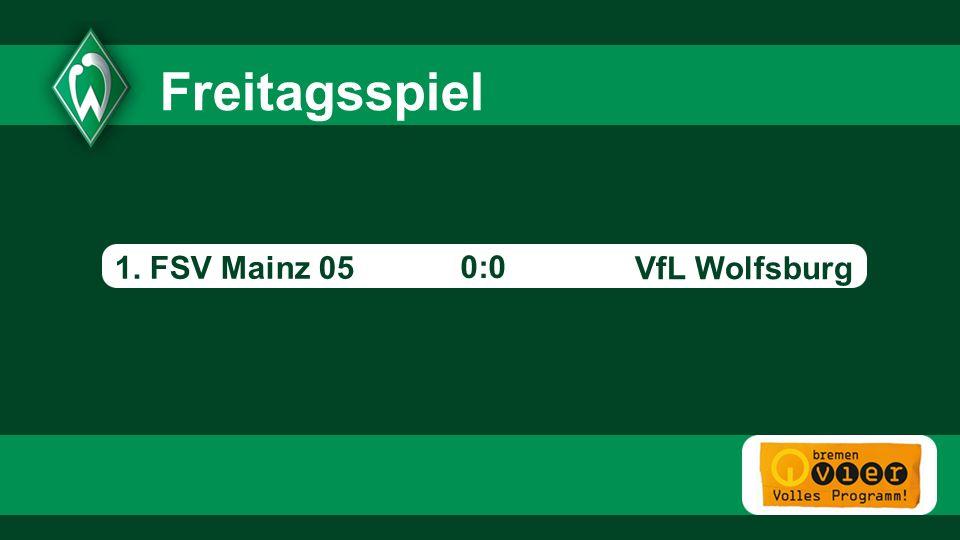 1. FSV Mainz 05 0:0 - VfL Wolfsburg Freitagsspiel