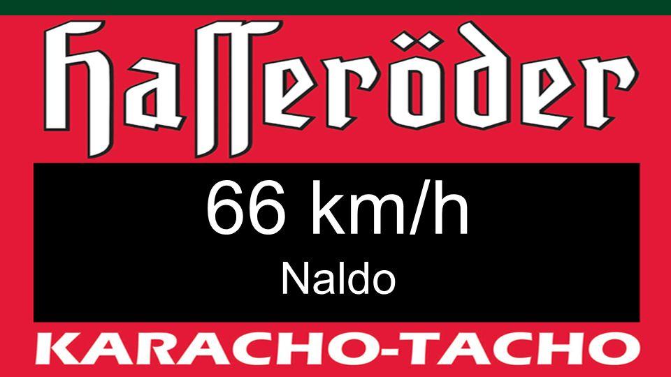 66 km/h Naldo