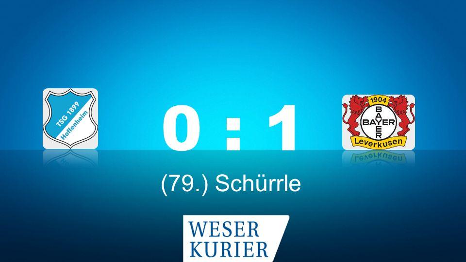 Weserkurier Ergebnisdienst 0 : 1 (79.) Schürrle