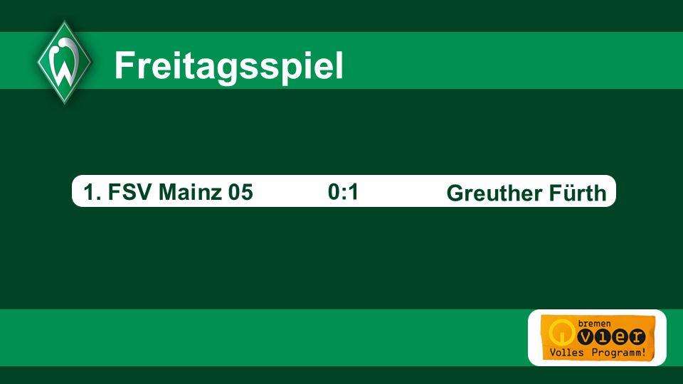Greuther Fürth - 0:1 Freitagsspiel 1. FSV Mainz 05