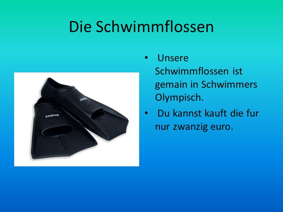 Die Schwimmflossen Unsere Schwimmflossen ist gemain in Schwimmers Olympisch.