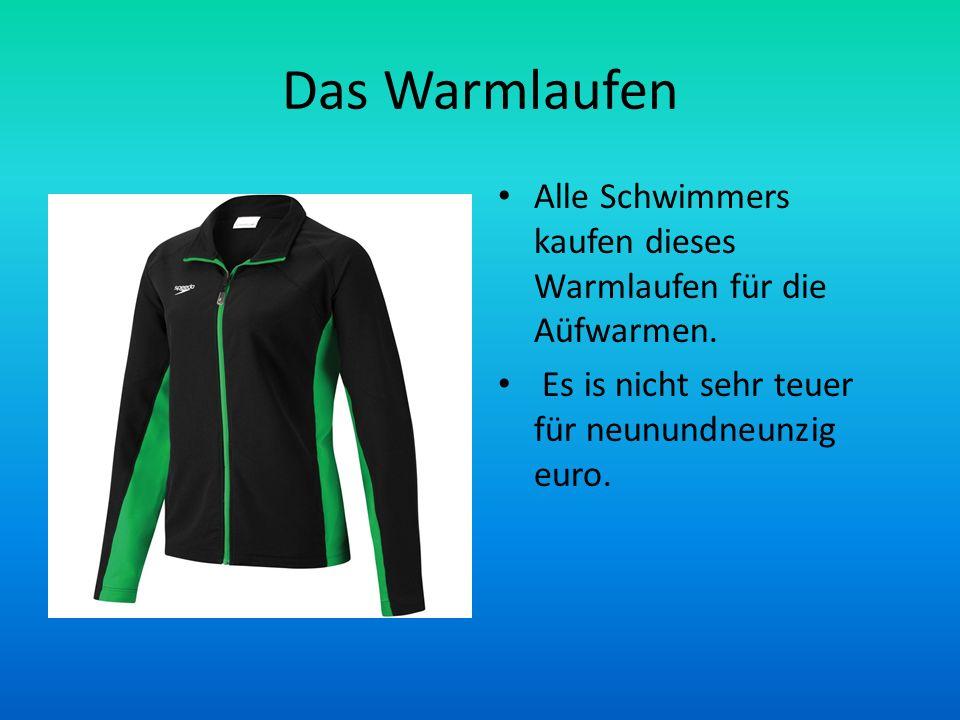 Das Warmlaufen Alle Schwimmers kaufen dieses Warmlaufen für die Aüfwarmen.
