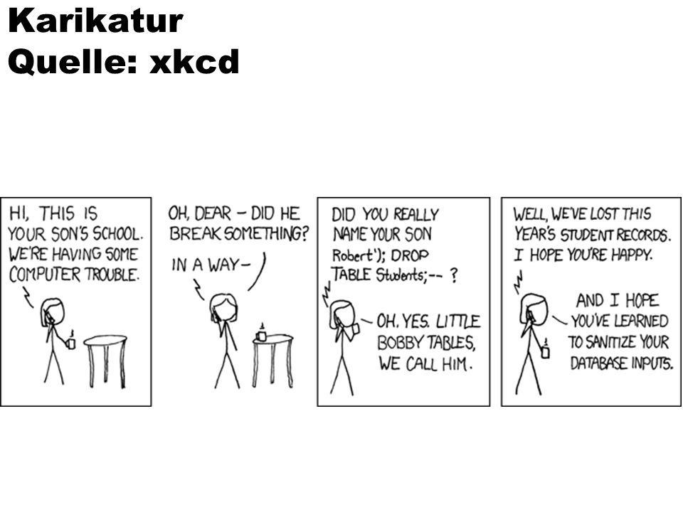 Karikatur Quelle: xkcd