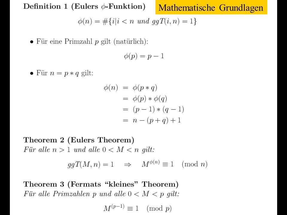 Verteilte und Parallele DBMS Teil VI75 Mathematische Grundlagen