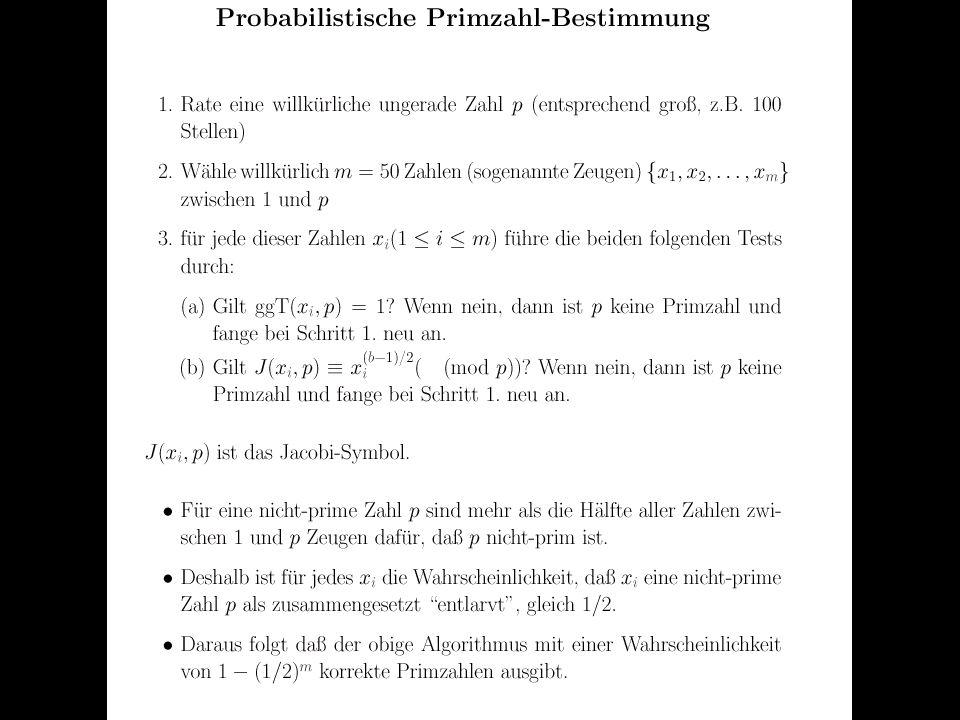 Verteilte und Parallele DBMS Teil VI84