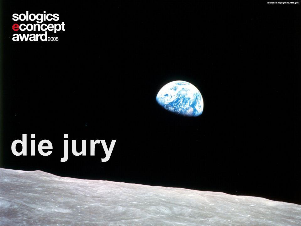 Seite 46 204235204235 © 2008 Telekurs Card Solutions GmbH die jury Bildquelle: http://grin.hq.nasa.gov/