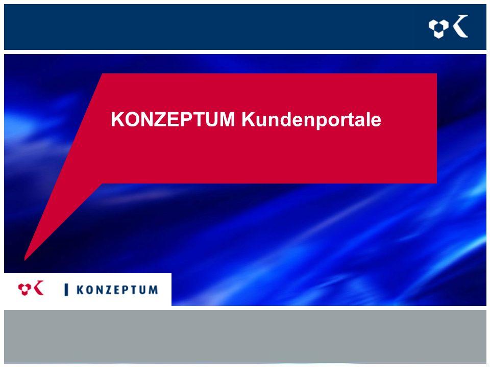 Überblick KONZEPTUM Portallösungen 1.TELERATE-Web-Portale: Endkunden- und Vertriebspartner-Portallösungen basierend auf TELERATE 2.Individuelle Portallösungen inkl.