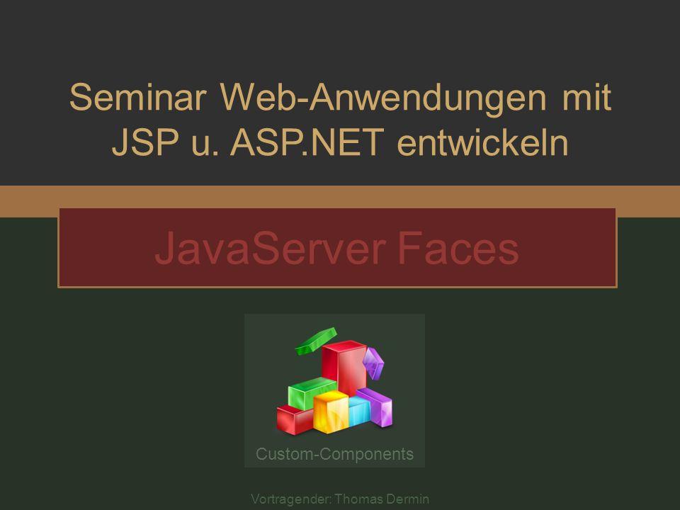 Seminar Web-Anwendungen mit JSP u.