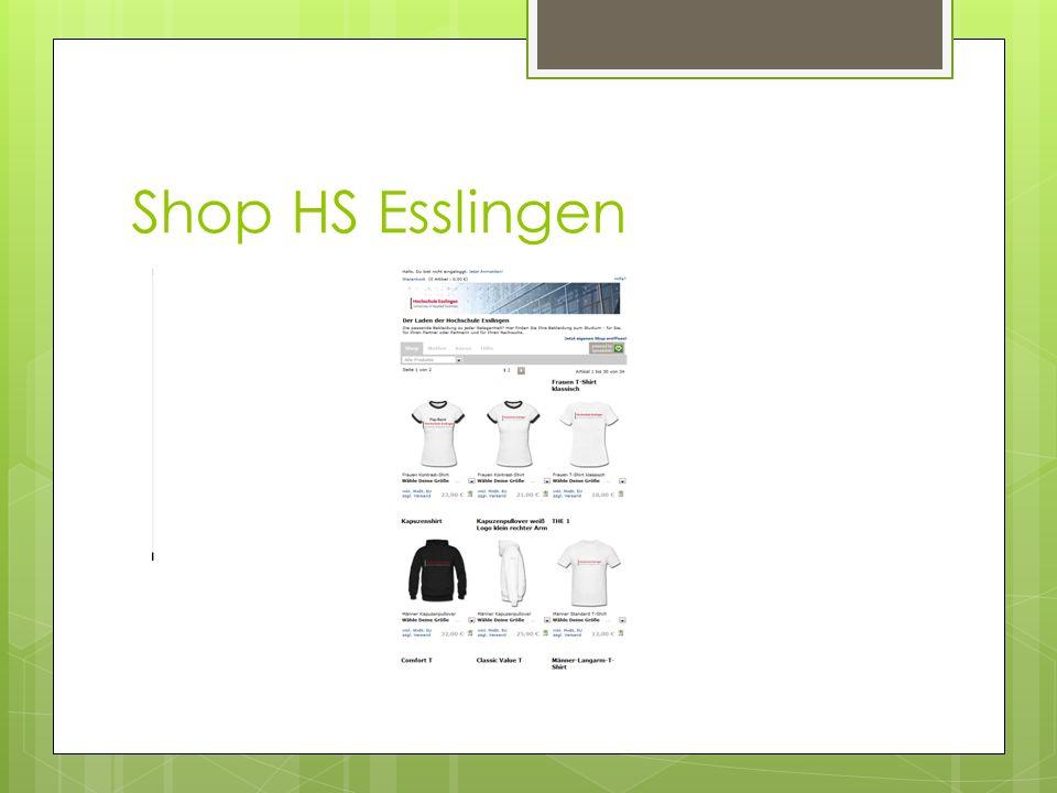 Shop HS Esslingen